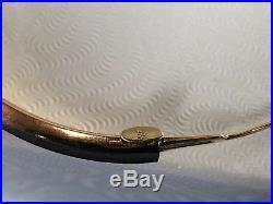 14K Gold EternaGold Bangle Bracelet 14KT 8 Around 6mm Wide 6.1 Grams
