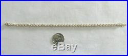 14K Gold Tennis Bracelet 7 Long 3.50 MM Wide