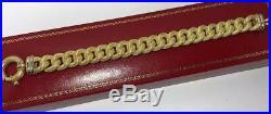14k Yellow Gold Curb Miami Link Toggle Wheat Wide Cuban Byzantine Bracelet 7