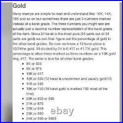 18K Fine 750 Saudi Gold Real Cuban Women's Bracelet 7.5 6.32g 6mm Wide Fastship