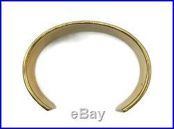 18k Yellow Gold Tiffany & Co. 1837 Wide Cuff Bracelet