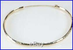7 1/2 Eterna Gold 14K Yellow Bracelet 4.5mm Wide 4.5 Grams Wholesale