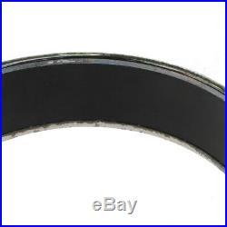 Auth HERMES Cloisonne Enamel Wide GM Bangle Bracelet Black Accessory 33BF871