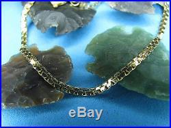 Boston Link 14K Yellow Gold Bracelet 6.5 Inches Long 2 Millimeter Wide