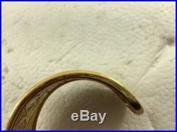 Carrera Y Carrera Romeo & Juliet 18Kt. 40 grams Cuff bracelet Wide size 1 1/4