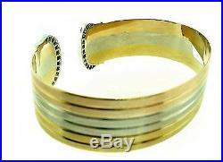 Cartier 18k Wide Signature Diamond Bracelet