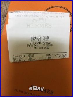 Hermes Wide Cuff Black Rose Gold Teracotta REDUCED