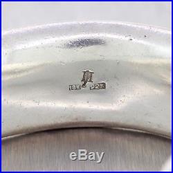 John Hardy Vintage Palu Dot Sterling Silver 18k Yellow Gold Wide Cuff Bracelet