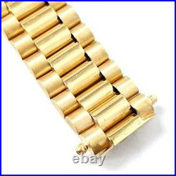 Rolex Style Bracelet 9ct Yellow Gold 375 Solid Brand New 45.9g 16.2mm Wide 8