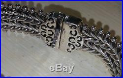 Ross Simons 14k Yellow Gold-Sterling silver wide Pave Diamond chain bracelet$650