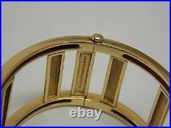 Tiffany & Co Atlas Open Wide Bangle on 18K Yellow Gold Medium Size