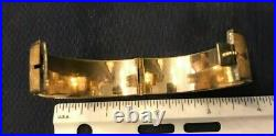 Victorian Gold Filled Wide Bangle Bracelet