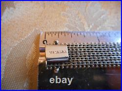 Yellow 14K Imperial Gold I. G. USA Bracelet 1/2 Wide, 7 1/4 Long, 19 Grams